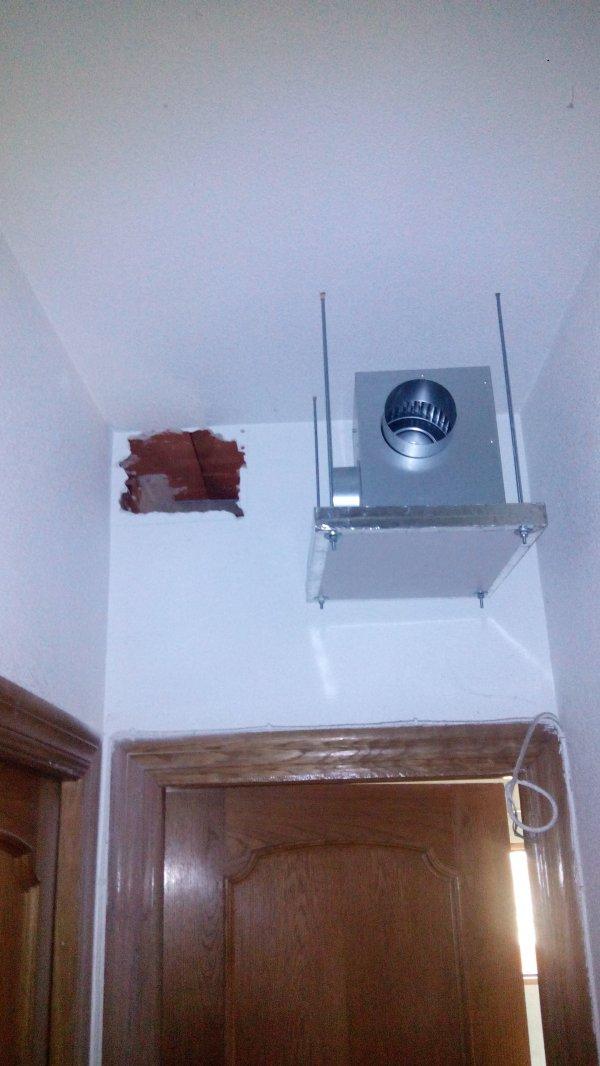 Brico distribuci n de calor de chimenea de le a nergiza el foro de la energ a - Como instalar una chimenea de lena ...