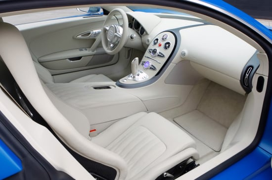 Tapicería coche blanca