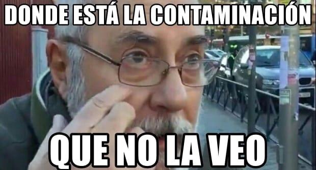 Contaminación Madrid Central