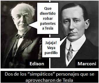 Edison y Marconi