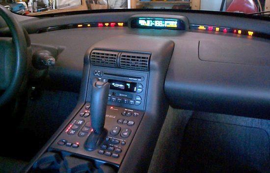 GM EV1 Interior