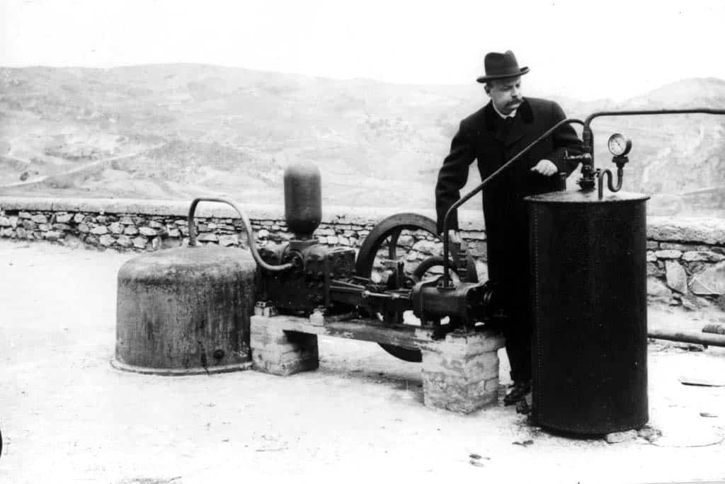Laderello geotermia