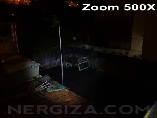 Linterna LED 500X