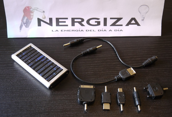 cargador solar gadgets