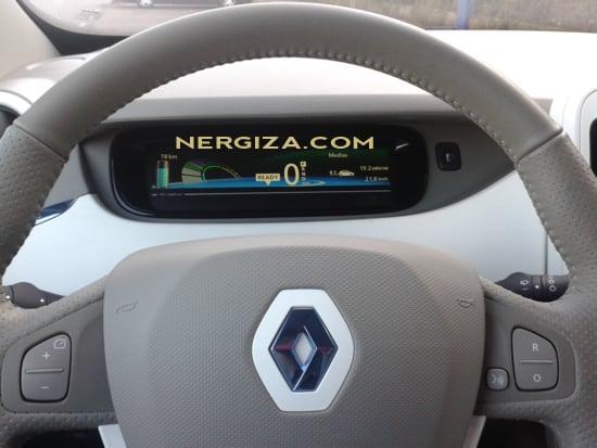 Renault ZOE volante