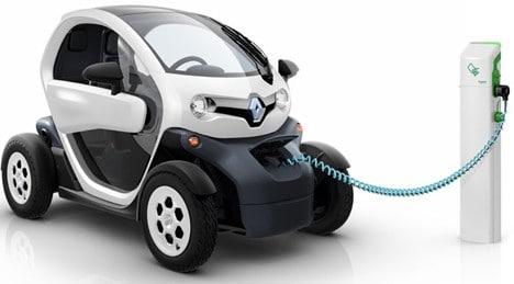 Renault twizy cargando
