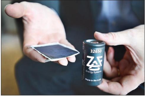 Batería de Zinc-Aire