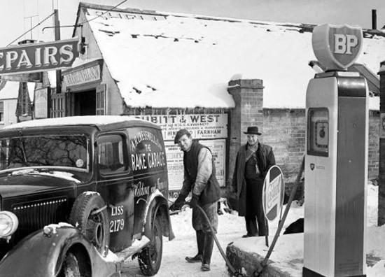 gasolinera antigua