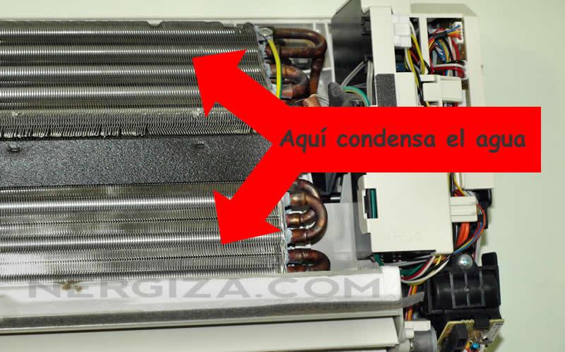 batería aire acondicionado