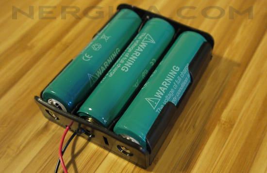 Baterías litio 18650