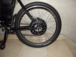 Motor bicicleta eléctrica