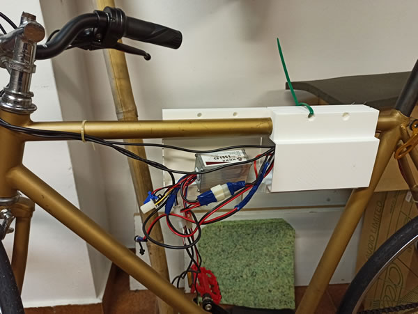 Bicicleta eléctrica control