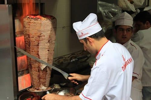 calor verde - kebab