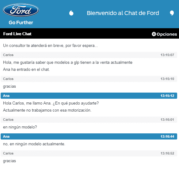Chat Ford