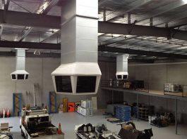 Climatizador evaporativo interior