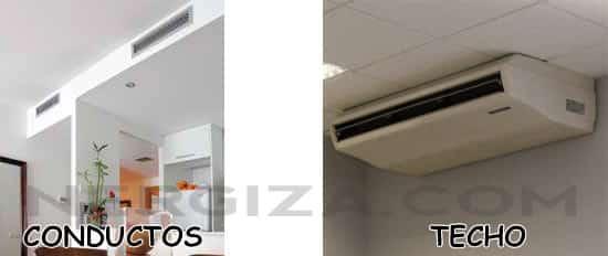 efecto coanda con máquinas de conductos y de techo