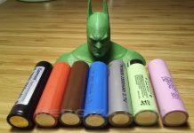 Comparativa de baterías de Litio 18650