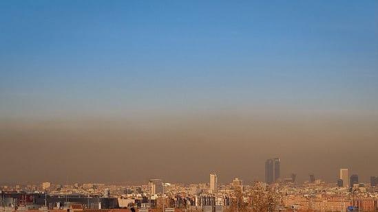 Boina Madrid contaminación calidad aire