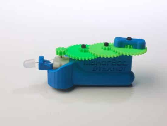 Dinamo con impresora 3D