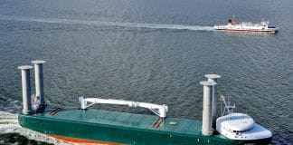E-Ship Rotor Flettner