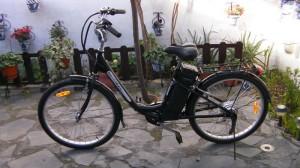 Bici eléctrica de fábrica