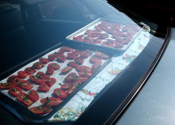 efecto invernadero cocinando en coche