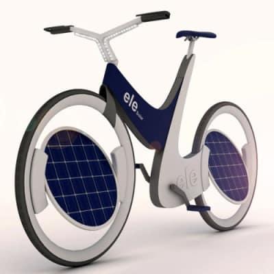 ele bicicleta solar