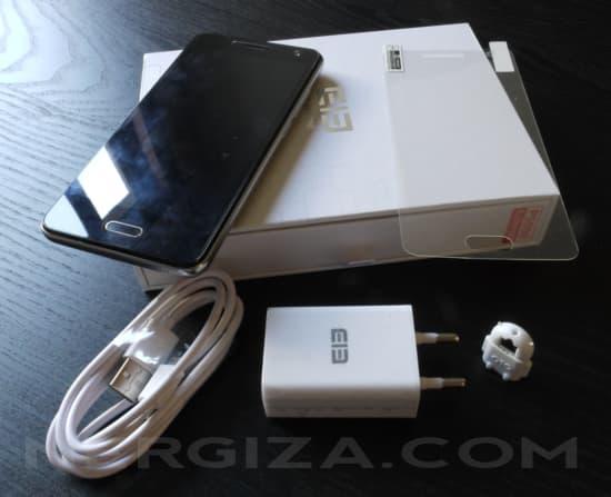 Elephone P5000 y accesorios