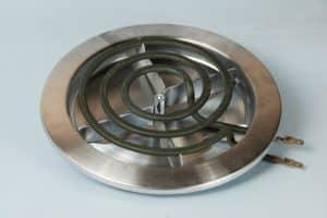 estufa electrica de parrilla espiral