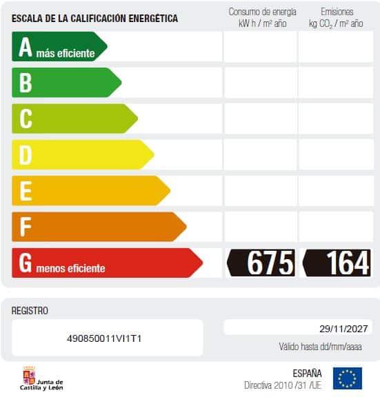 etiqueta energetica gasoleo