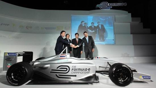 fórmula e en Bangkok