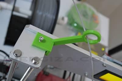 Guía cable impresora