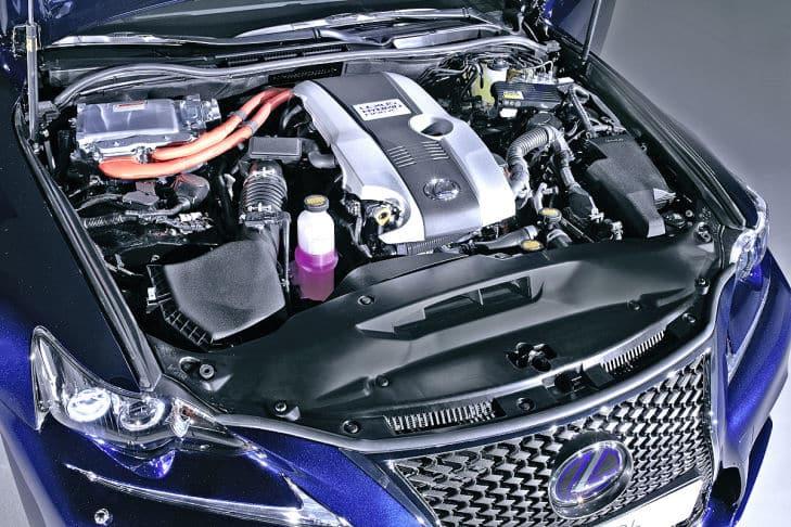 motor híbrido is300h