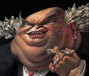 hombre dinero