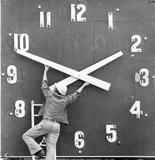 horario de verano - cambiar hora