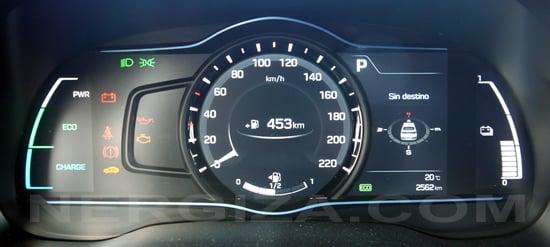 Hyundai Ioniq cuadro
