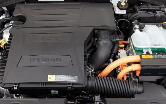 Hyundai Ioniq motor