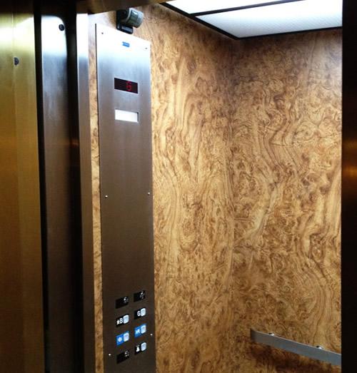 iluminacion ascensor