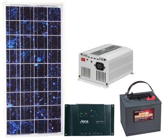 kit energia fotovoltaica