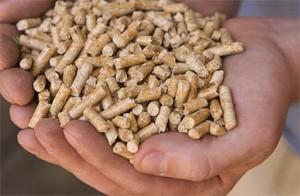 leña - pellets