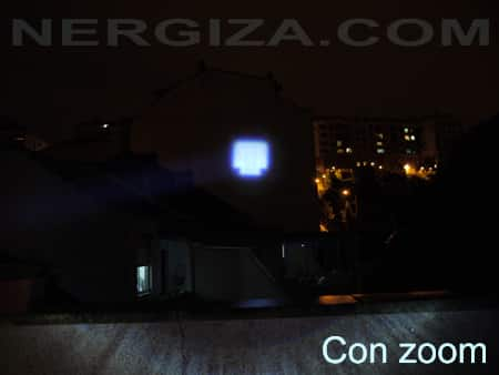 linterna LED CREE Q5 ZOOM