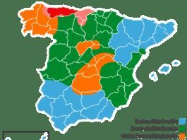 Mapa distribuidoras electricidad