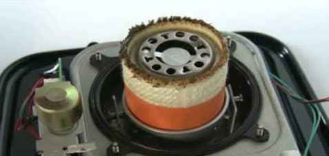Cambio mecha en estufa de parafina