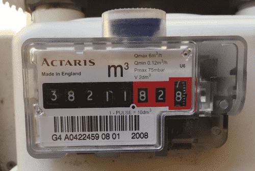Medidor gas