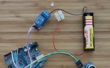 Montaje sensor de aparcamiento Arduino