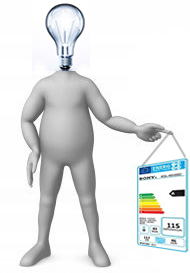 Persona clasificada energéticamente