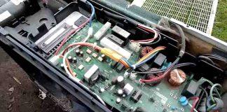 Placa electrónica aire acondicionado