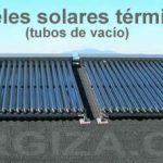 Placas solares: térmicas o fotovoltaicas