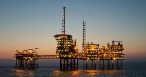 Plataforma petrolera en Veracruz