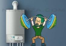 Potencia calefacción
